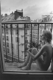 On a Balcony. Paris